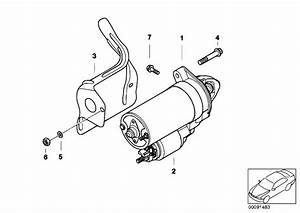 Original Parts For E65 735i N62 Sedan    Engine Electrical