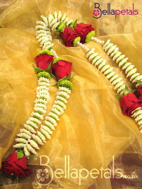 bellapetalscouk indian asian wedding garlands