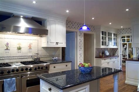 blue pearl granite with white cabinets white cabs and blue pearl granite no go on the wallpaper