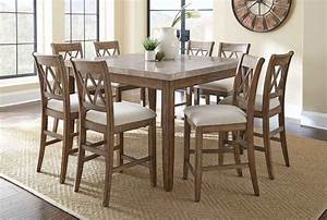 Liberty Furniture Candler Dining 5 Piece 54 Inch Square ...