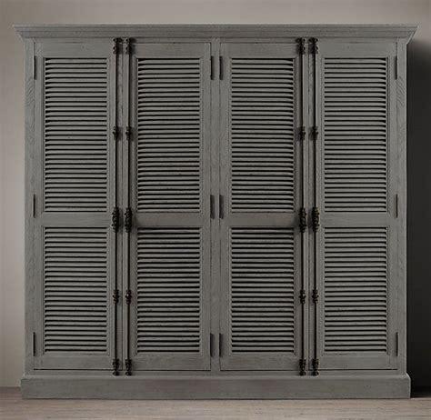 Louvre Door Cupboards by Shutter 4 Door Cabinet Bel Soggiorno Closet Doors Diy