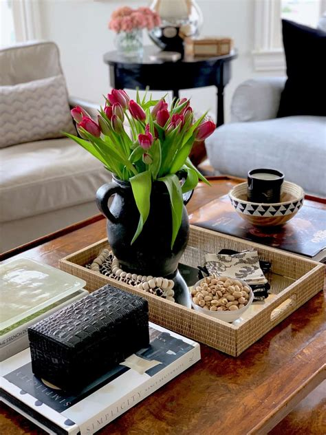 Lauren flanagan has more than 15 years of experience working in home decor and has written extensively for a variety of publications about home decor. list of ideas to decorate your coffee table with - Salvaged Living
