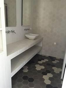 Modele De Carreaux De Ciment : carreaux de ciment charme parquet modele hexagonal ~ Zukunftsfamilie.com Idées de Décoration