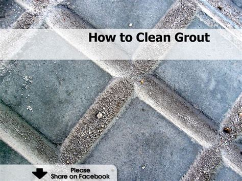 how to clean grout how to clean grout