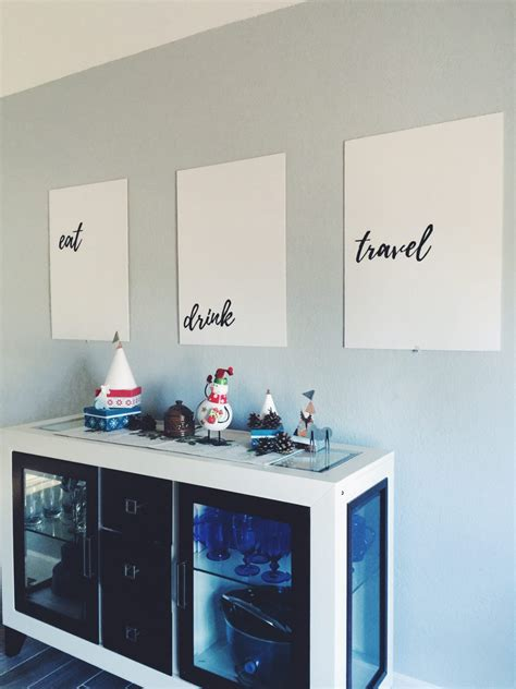 dining room wall art diy decor   budget mommy