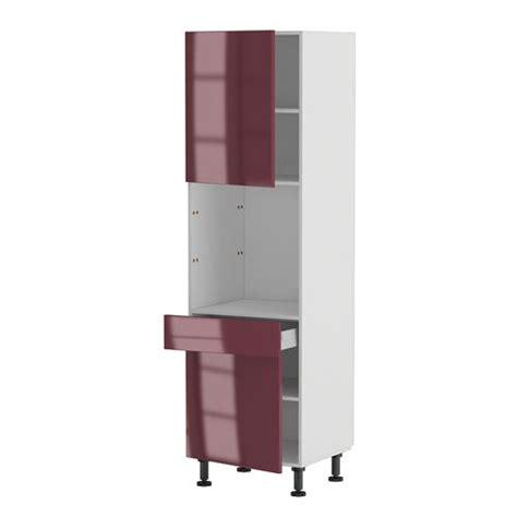 meuble cuisine cdiscount meuble cuisine colonne four 60 200 4 1 porte 1 achat