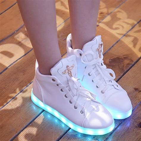 high top light up shoes new glowing casual shoes high top light up shoes