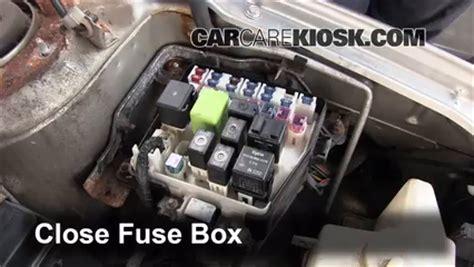2000 Mazda Protege Fuse Box by Replace A Fuse 1999 2003 Mazda Protege 2002 Mazda