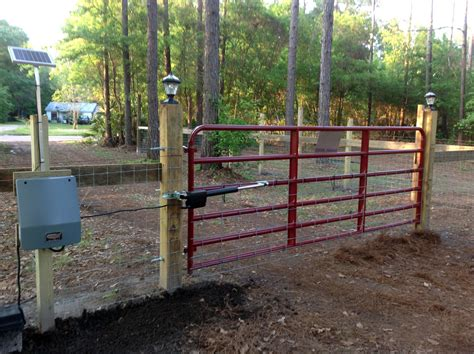 automatic sentry  series dual swing solar gate opener