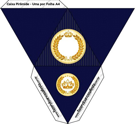 kit festa completo coroa de principe azul marinho 10 jpg
