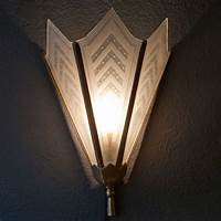 nice art deco lighting ideas Wall lights art deco - 13 ways to feel The Futurism of art movement   Warisan Lighting