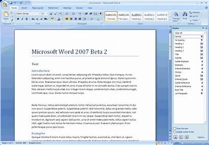 Word Microsoft Office 2007 Screenshot Document Tools