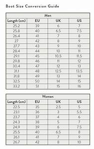 All Things Hunting Size Charts