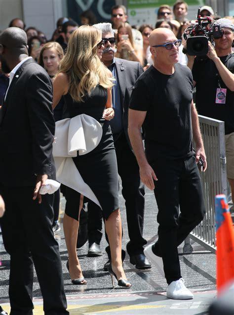 Heidi Klum Photos Simon Cowell Honored With Star