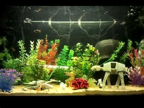 Wars Fish Tank Decorations by Am 233 Nagement D 233 Cor Aquarium Wars