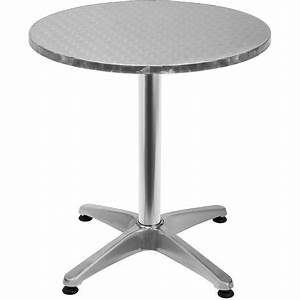 Pied De Table Inox : best table ronde de jardin en inox images amazing house ~ Dailycaller-alerts.com Idées de Décoration
