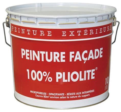 peinture glycero brico depot resine peinture pour façade pliolite blanc mat 10 l brico dépôt