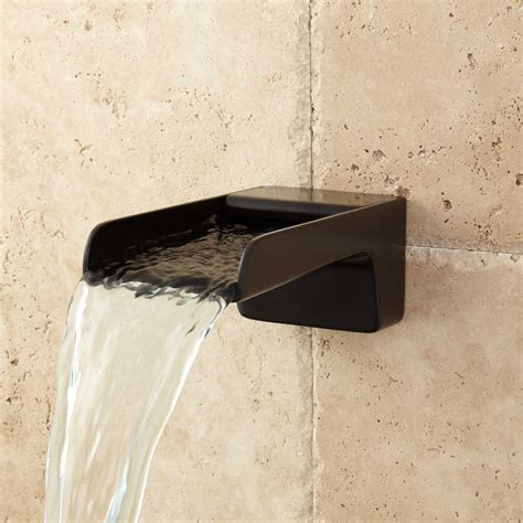 waterfall tub faucet jaxson waterfall tub spout tub faucets bathroom