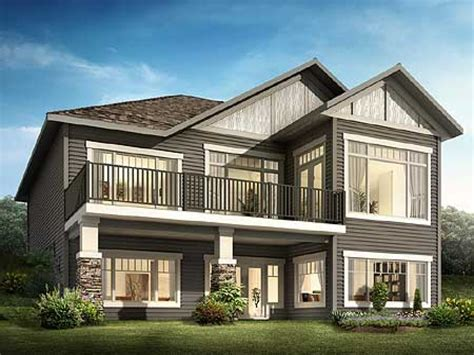 home plans for sloping lots sloping lot house plans craftsman house design plans