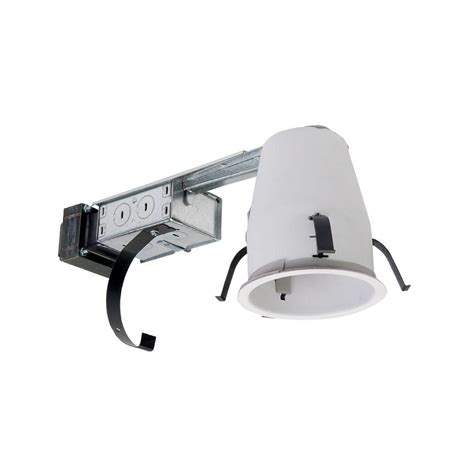 halo shallow can lights halo h1499 4 in steel recessed lighting housing for