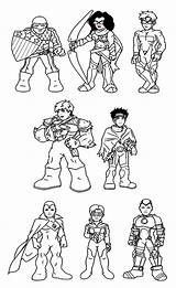 Coloring Hero Super Squad Pages Marvel Iron Man Amazing Hulk Superhero Captain Colouring Lineart Print Cartoon Netart America Daycoloring sketch template