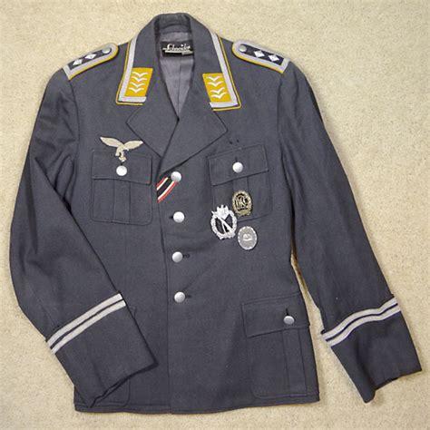 luftwaffe uniform veteran lot adolf wessel