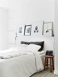 Tete De Lit Moderne : t te de lit avec rangement pour une chambre plus organis e ~ Preciouscoupons.com Idées de Décoration