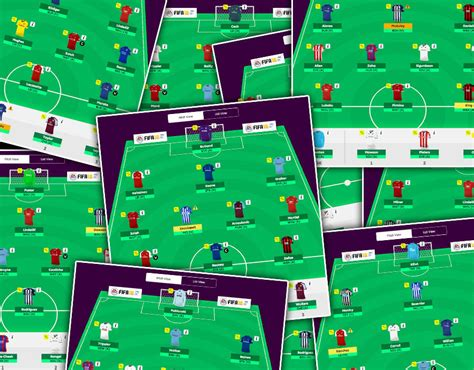 Fantasy Premier League Tips 15 Potential Fpl Formations