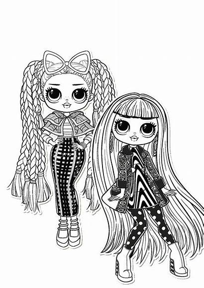 Lol Omg Coloring Pages Doll Ausmalbilder Para