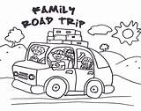 Coloring Clip Trip Road Clipart Pages Colouring Vacation Drawing Activities Trips Printables Roadtrip Summer Printable Traveling Winding Travel Google Trail sketch template