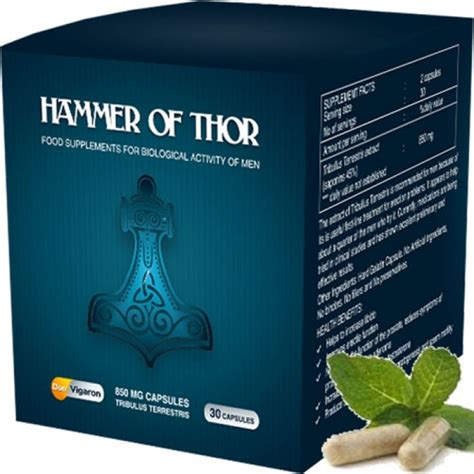 original hammer of thor pack of 30 capsules for rs 4000