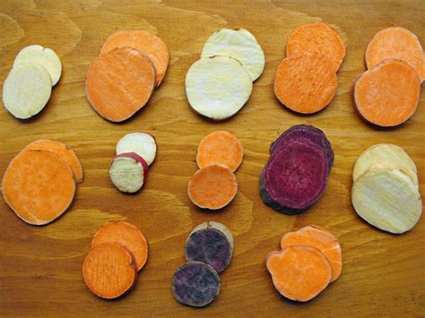 The Different Types Of Sweet Potatoes