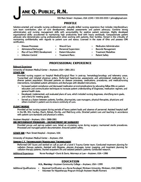 best nursing resume sles 25 best ideas about rn resume on registered resume student and