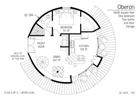 Monolithic Dome Homes Floor Plans by Floor Plan Dl 3210 Monolithic Dome Institute