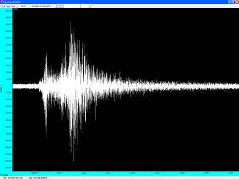 Recent sightings: Seismometer image of Midwest earthquake
