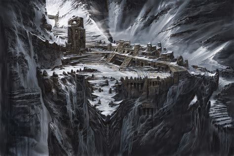 The Art of Architecture: Skyrim Architecture :: High Hrothgar