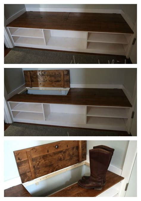 wood shoe storage bench plans woodworking projects plans