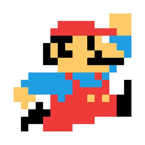 8 Bit Super Mario Mario T Shirt Teepublic