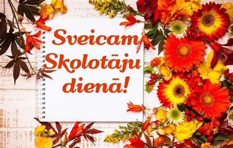 Sveiciens Skolotāju dienā! - Latvijas Universitātes Rīgas ...