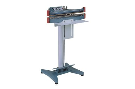 heat sealer foot operated hardy packaging