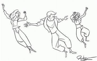 Coloring Pages Dancer Hip Hop Jazz Dance
