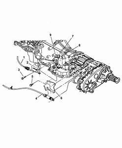 2006 Jeep Liberty Manual Control Lever