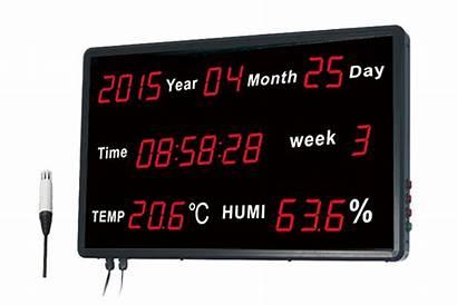 Huato Led Rj45 Data Thermohygrometer Logger Display
