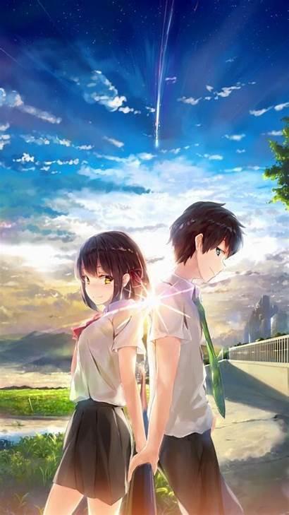 Kimi Wa Na Mitsuha Anime Taki Poster