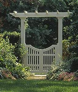 Free Arbor with Gate Plans - Woodwork City Free