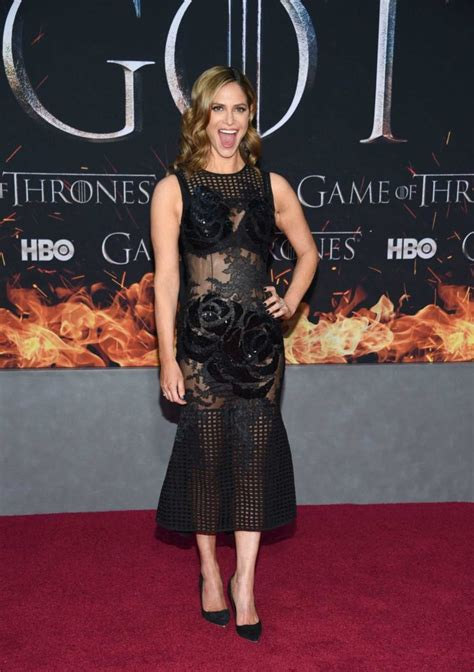 andrea savage attends  game  thrones season