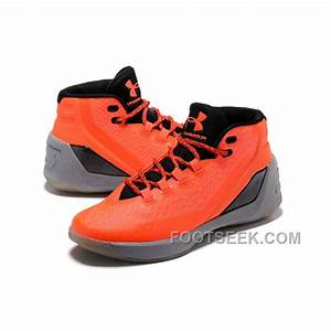 Under Armour Stephen Curry 3 Shoes Orange, Price: $88.00 ...
