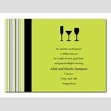 Three Cocktails  Party Invitations By Invitation