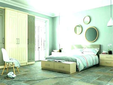 bedroom wall colors for small mint green color and