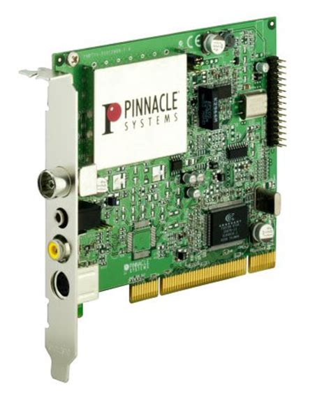 pinnacle pctv rave hardware schede  acquisizione video